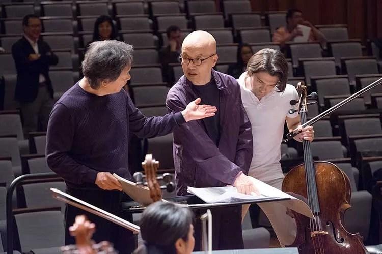 Rehearsal-with-Myung-whun-CHUNG-and-Gautier-CAPUCON-2016-Credit-WANG-Xiaojing