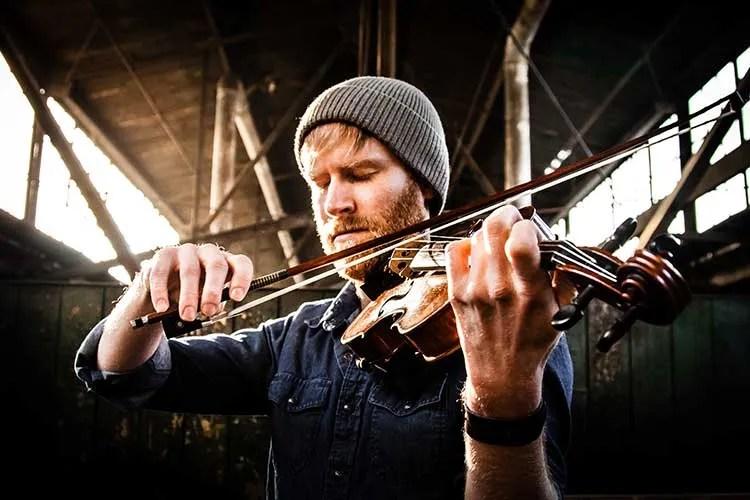 Violinist Jeremy Kittel