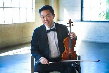 Photo by Jeff Fasano, haozhouviolin.com
