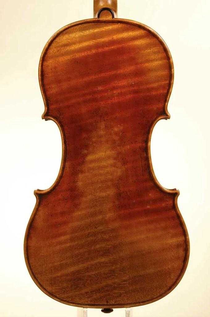 1744 Guarneri del Gesù copy back-David Gusset