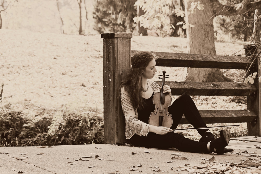 violinist augusta mckay lodge