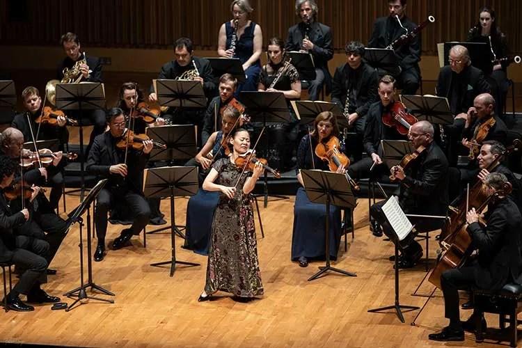 Violinist Midori performs at Saffron Hall