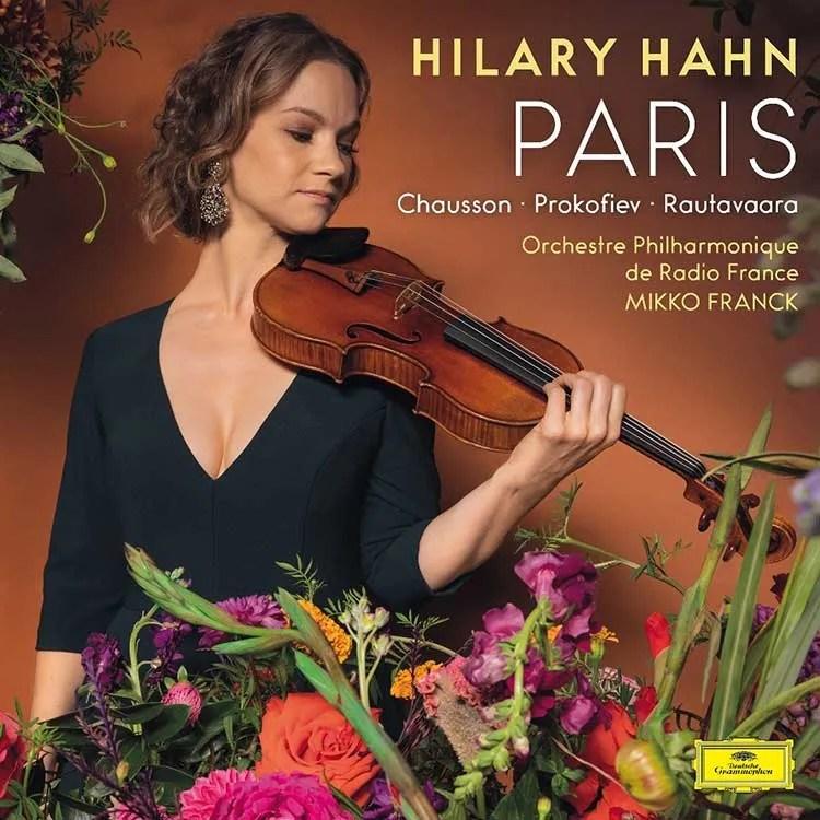 Hilary Hahn album, Paris