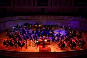 Chicago Sinfonietta performing onstage