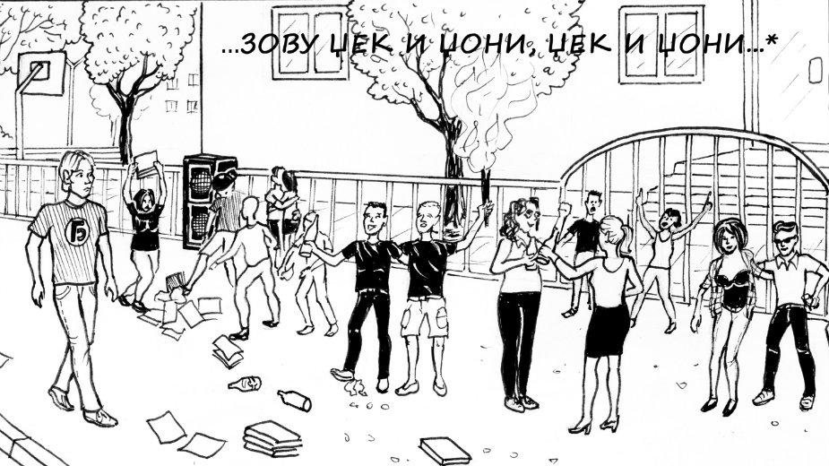 kraj osnovne skole stripblog