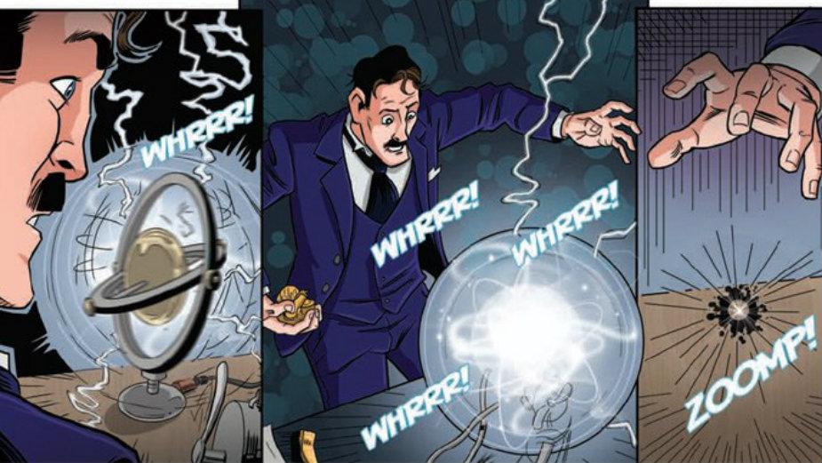 nikola tesla u stripu stripblog