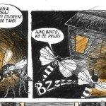 "Strip ""Ti dosadni komarci"" – autorke Jelene Vučković!"
