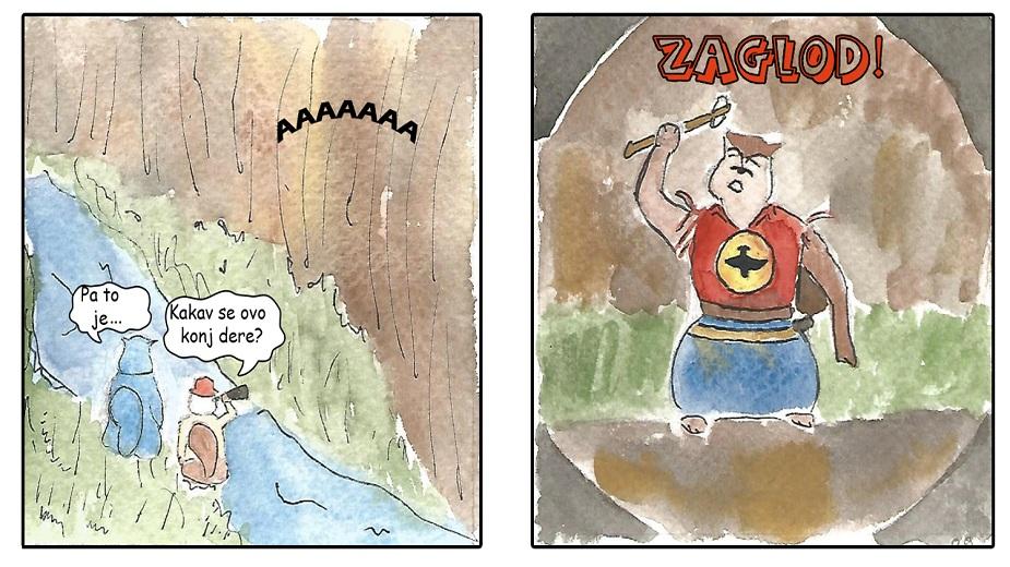 Parody-Chnjak! - Novi autorski strip na Strip Blogu strip blog
