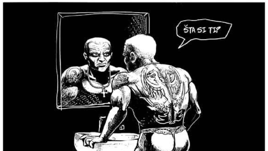 """Strip """"A šta si ti?"""" autorke Jane Adamović strip blog"""