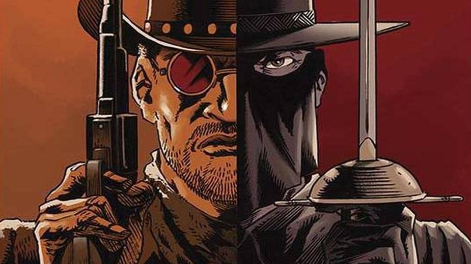 Django/Zorro krosover - D je tiho, ali Z nije
