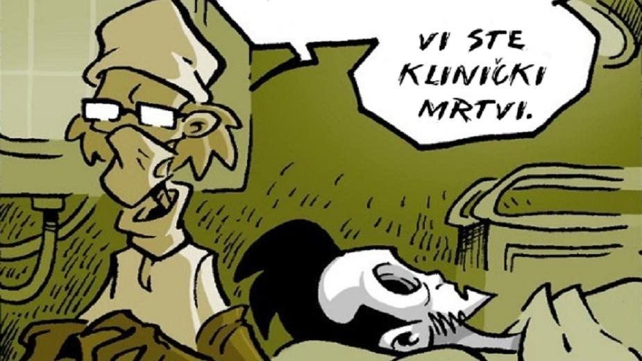 "Nemrtvi Ed epizoda #6: ""Drugo mišljenje"" strip blog"