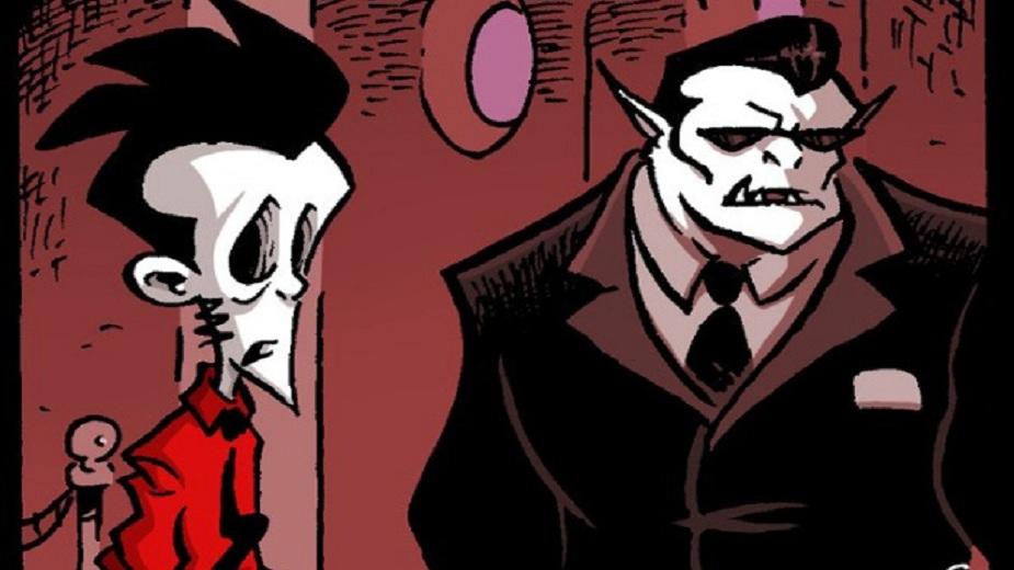 "Nemrtvi Ed epizoda #11: ""Gorila"" Strip Blog"