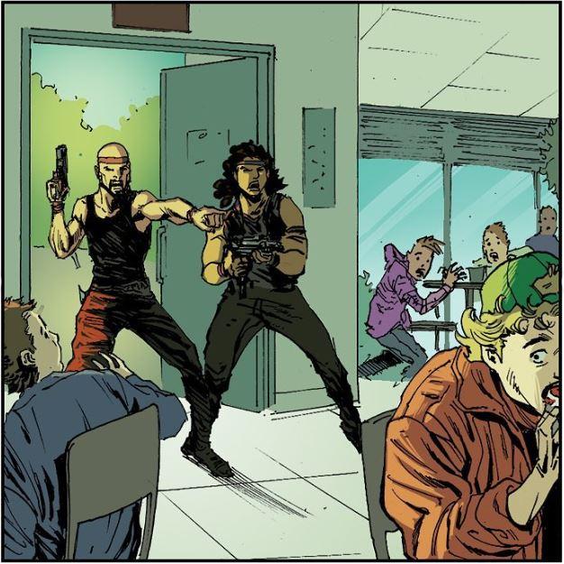 oružani napad stripblog