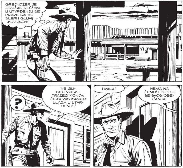 kazna za oholog pukovnika stripblog