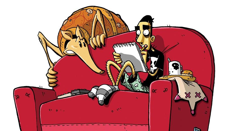 """""""Armadilovo proročanstvo"""" - Strip koji će vas nasmejati, razoružati, a možda i rasplakati... Strip Blog"""