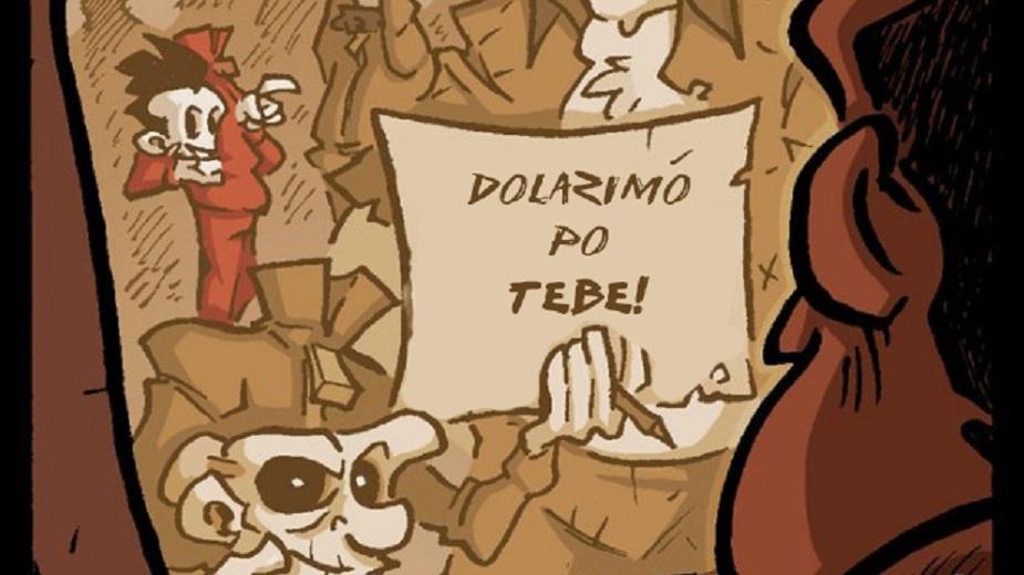 "Nemrtvi Ed epizoda #51: ""Veliko bekstvo"" Strip Blog"