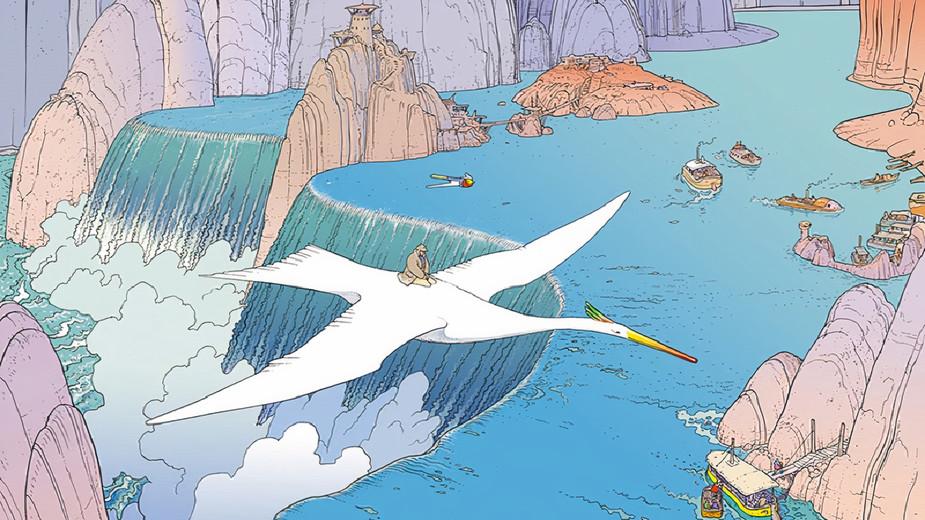 """""""Hermesova putovanja"""" - Serija Mebijusovih čarobnih ilustracija (GALERIJA)"""