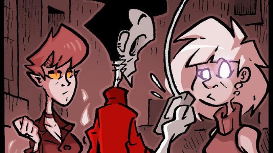 "Nemrtvi Ed epizoda #110: ""Lusi"" Strip Blog"