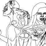 Ilustracija Dragana Đurđevića: Housewife with shotgun