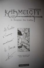 Alexandre Astier - Kaamelott / L'Enigme du coffre TL - Angoulême 2012