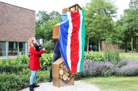 Opening insectenhotel Laarbeek