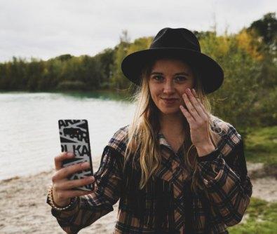 Fotoshoot met Britt