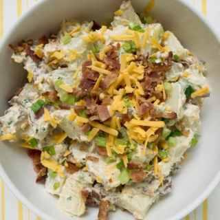 bacon cheddar potato salad recipe