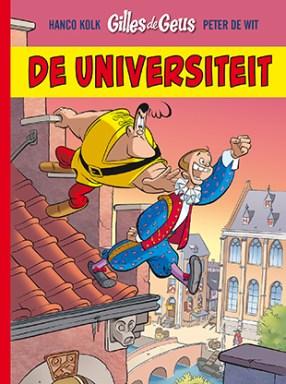 Cover van het nooit verschenen Gilles de Geus album De Universiteit