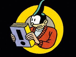 Logo van stripwinkel Jopo de Pojo