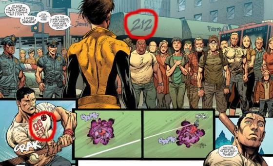 X-Men met geheime boodschap