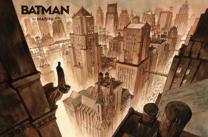 Batman door Enrico Marini