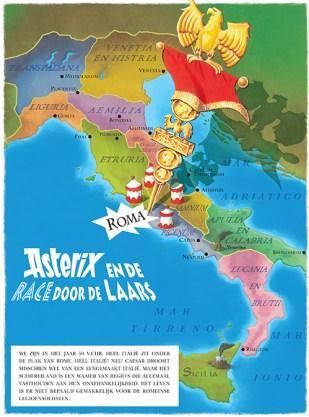 Asterix en de race door de Laars recensie