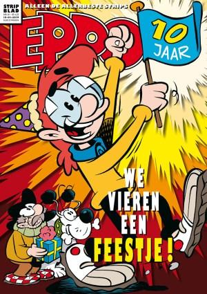 Cover van het jubileum-nummer van Eppo.