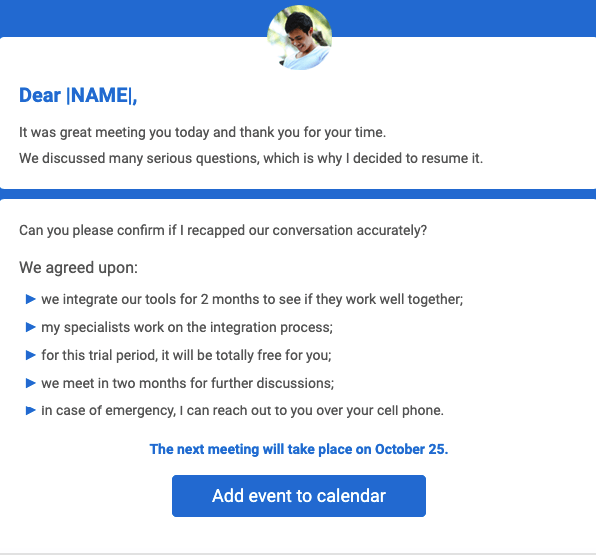 I genuinely appreciate a prompt confirmation from your side. How To Design A Perfect Appointment Confirmation Email Stripo Email