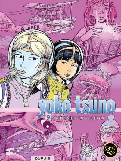 Yoko Tsuno Integraal 9 Geheimen en vloeken
