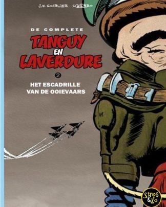 Complete Tanguy en Laverdure 2 – Het escadrille van de ooievaars