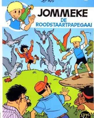 Jommeke 292 - De roodstaartpapegaai
