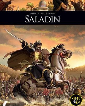 Zij schreven geschiedenis 5 - Saladin