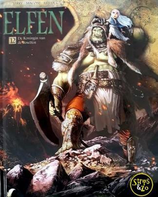Elfen HC 12 - De koningin van de boselfen