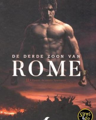 De derde zoon van Rome 2 - Eunous, de eerste Spartacus