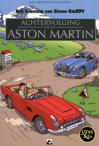Simon Hardy, een avontuur van 4 - Achtervolging van de Aston Martin