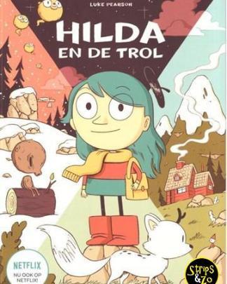 Hilda 1 - Hilda en de trol