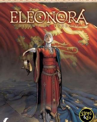 Bloedkoninginnen 8 - Eleonora 4 - De zwarte legende 4