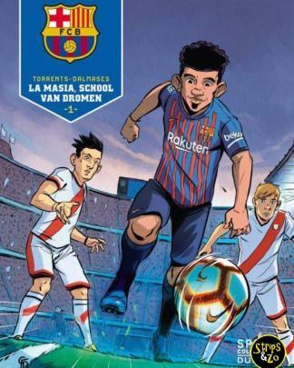 Voetbalcollectie - Barcelona 1 - La Masia, school van dromen