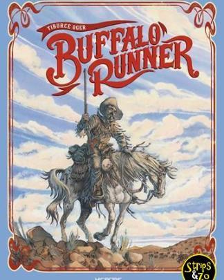 buffalo runner blauw