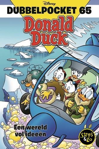 Donald Duck - Dubbelpocket 65 - Een wereld vol ideeën