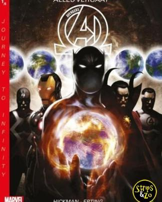 New Avengers Journey to Infinity 1 Alles vergaat 1