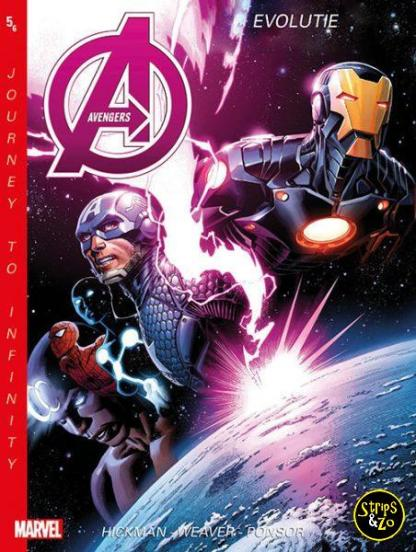New Avengers Journey to Infinity 5 Evolutie 1