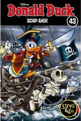 donald duck thema pocket 43 schip ahoi
