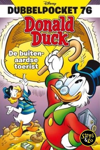Donald Duck Dubbelpocket 76 De buitenaardse toerist